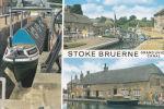 STOKE BRUERNE  CRAND UNION CANAL MULTI VIEW - Northamptonshire