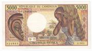 République Du Cameroun - 5000 F. / A.003 (1984-92) - Cameroun