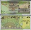 SUDAN - 25 DINARS 1992 UNC - P 53 - Soudan