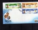 NEVIS 1981 ROYAL WEDDING - MATRIMONIO REALE FDC - Antille