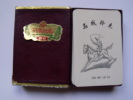 JEU DE CARTES - CHINE - 52 CARTES - JOKER - POISSON - BOITE - ANNEE 60 - Playing Cards (classic)
