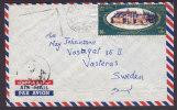 Egypt Egypte Airmail Par Avion CAIRO AIR 1967 Cover To VÄSTERÅS Sweden Kloster Abbey St. Katharina Sinai - Posta Aerea
