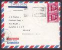 Egypt Egypte Airmail Par Avion CAIRO 1967 Cover To BJUV Sweden 2-Stripe Brunnenhaus Sultan Hassan-Moschee, Kairo - Luftpost