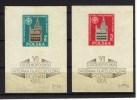 POL01) POLONIA 1955 Exp. Filatelica Polacca SCOTT BF 102 -103 MNH** - Unused Stamps
