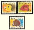 Suriname Luchtpost 62-64 MLH ; Vissen, Fish, Poissons, Pescado 1976 - Vissen