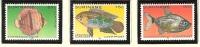 Suriname Luchtpost 221-223 MLH ; Vissen, Fish, Poissons, Pescado 1981 - Vissen