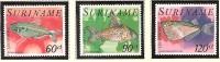 Suriname Luchtpost 83-85 MLH ; Vissen, Fish, Poissons, Pescado 1977 - Vissen