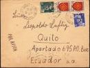FRANCE 1945 AIRMAIL COVER To Ecuador  [D8702] - Francia