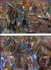 Serie Di  10 Cartoline  Nuove  Numerate- Con  Contenitori  Dello SMOM  Sulla  Via  Del  Giubileo  Del  2000- - Cartes Postales