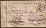 DR Kriegsgefangenenpost - Gelaufen  Nach Sibirien 29.3.1915 Mit Zensurstempeln - Allemagne