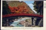 Shinkyo - Nikko Sacred Bridge - Viaggiata - Formato Piccolo - Japón