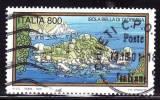 ITALIA - 2000 - Usato - Turismo -  Isola Bella Di Taormina  - 800 L. - 0,41 € - 1991-00: Oblitérés