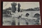 Bouxières-aux-Dames, Le Pont, Animée, Enfants Se Baignant - France