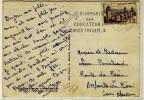 """FLAMME  -  """" FONTAINEBLEAU / S. ET M. / 9-7-1956 """" + """" 3° CONGRES / DES / EDUCATEURS / DE JEUNES INADAPTES """" - N° 452 - Poststempel (Briefe)"""