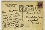 """FLAMME  -  """" FREJUS / VAR / 3-8-1965 """" + """" TOUR DE MARE / FREJUS / EN JUILLET / FETES DE LA BIERE """" - N° 1462 - Marcophilie (Lettres)"""