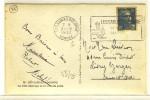 """FLAMME  -  """" LES SABLES D'OLONNE / VENDEE / 25-5-1952 """" + """" LES SABLES D'OLONNE / SA PLAGE / SON PORT """" - N° 73 - Marcophilie (Lettres)"""