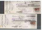 BORDEAUX       -    A.  DARRENOUGUE   IMPORTATIONS  MORUES  ISLANDE  ET  TERRE  NEUVE - Bills Of Exchange