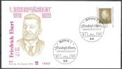 BRD FDC 1971 Nr.659  100.Geb. Friedrich Ebert (d 146 ) Günstige Versandkosten - FDC: Covers