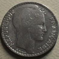 1934 - France - 10 FRANCS, Turin, Argent, Silver, KM 878, Gad 801 - K. 10 Franchi