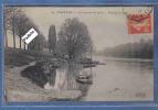 Carte Postale 92. Puteaux  Les Bateaux De Pêche Très Beau Plan - Puteaux