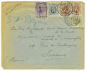 VEND LETTRE DE 1932,DE BRUXELLES(BELGIQUE) A SCEAUX (SEINE-FRANCE),N°342-279-280-288A X 2 (COB) !!!! - Belgium