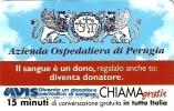 *CHIAMAGRATIS - N.242 - AZIENDA OSPEDALE PERUGIA (AVIS)* - Scheda NUOVA (MINT) (DT) - Sin Clasificación