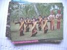 Azië Asia Indonesië Indonesia Sulawesi  Celebes Gunde Dance - Indonesië