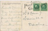Postal HABANA (Cuba) 1927. Paquebot. Correo Maritimo - Cuba