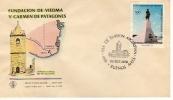 FUNDACION DE VIEDMA Y CARMEN  DE PATAGONES   1979 2 DO CENTENARIO SOBRE 1ER  DIA DE EMISION  0HL - Unclassified
