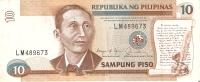 BILLETE DE FILIPINAS DE 10 SAMPUNG PISO   (BANKNOTE) - Filipinas