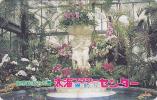Télécarte Japon / 231-1006 - Fleur ORCHIDEE / Fontaine  & Ange - ORCHID Flower Japan Phonecard - Blume - ORQUIDEA - 1355 - Fleurs