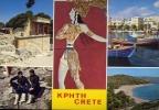 Kphth - Crete - Viaggita Mancante Di Affrancatura Formato Grande - Grecia