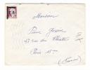 Marianne De DECARIS , Avec Surcharge Provisoire E.A.  ( Etat Algérien ) Sur Lettre ( Cachet De FORT-de-L' EAU, En 1962 ) - Non Classés