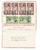 MONACO  /  Morceau D'enveloppe Envoyée Avec 6 Beaux Timbres ( Mariage De Rainier Et Grâce ) + Cachet Du  19  AVRIL  1956