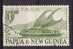 PAPUA & NEW GUINEA 1952 Sc#131 From The 1st Set Of Papua And New Guinea, 1sh, USED - Papua-Neuguinea