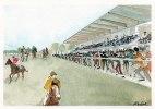 Illustrateur-Annick REDOR-Hippodrome Petit Port NANTES- N° AX 571 (2) (Chevaux Course Courses) *PRIX FIXE - Otros Ilustradores