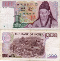 1983 South Korean 1000 Won Circulated Condition - Corée Du Sud