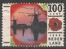 PAESI BASSI NEDERLAND  100 CENT 1996 USATO - Periodo 1980 - ... (Beatrix)