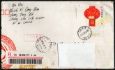 CHINA 2011 - REGISTERED POSTAL STATIONERY SENT IN ITALY - BACK SIDE STAMPS: TIBETAN RELICS / 1998 UPU CONGRESS - 1949 - ... Repubblica Popolare