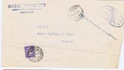 Italy Cover 1952 Rovigo To Ficarolo With  Segnatasse Stamp - 6. 1946-.. Repubblica