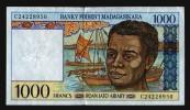 MADAGASCAR 1000 FRANCS 1994 - Madagascar
