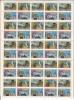 Canada MNH Full Sheet Of 50 Scott #1104 To #1107 Explorers Of Canada - Discovers With Varieties - Variétés Et Curiosités