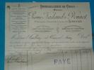 Factures) Limoges : H.viennes ( étab : Pierre NADAUD & DONNET  ) Quincaillerie En Gros - Agriculture