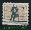 CANADA STAMP - EDUCATION - STUDENTS - SCOTT No 396, 0,05ç, 1962 - USED - - 1952-.... Règne D'Elizabeth II