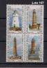 Serie Completa De Uruguay Tema Faros De 2000 Mint - Uruguay