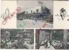 CP Italie - RICCIONNE - Ristorante Pizzeria S. Lucia + Hotel Promenade + Hotel Mignon (4) Quattro Cartolina Diverse - Rimini