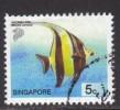 Singapore ~ 2001 ~ 5c. Defin. ~ Fish ~ SG 1127 ~ Used - Singapore (1959-...)
