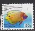 Singapore ~ 2001 ~ 50c. Defin. ~ Fish ~ SG 1132 ~ Used - Singapore (1959-...)