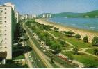 VISTA PANORAMICA DA PRAIA  SANTOS  OHL - Postkaarten