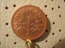 SINGAPORE 1 Cents 2001 - Singapore